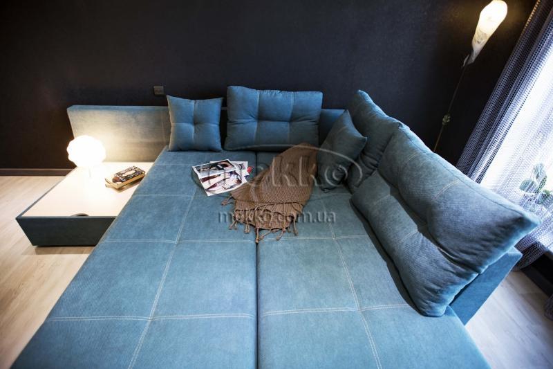 Кутовий диван з поворотним механізмом (Mercury) Меркурій ф-ка Мекко (Ортопедичний) - 3000*2150мм  Бахмач-3