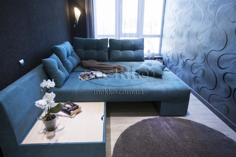 Кутовий диван з поворотним механізмом (Mercury) Меркурій ф-ка Мекко (Ортопедичний) - 3000*2150мм  Бахмач-4