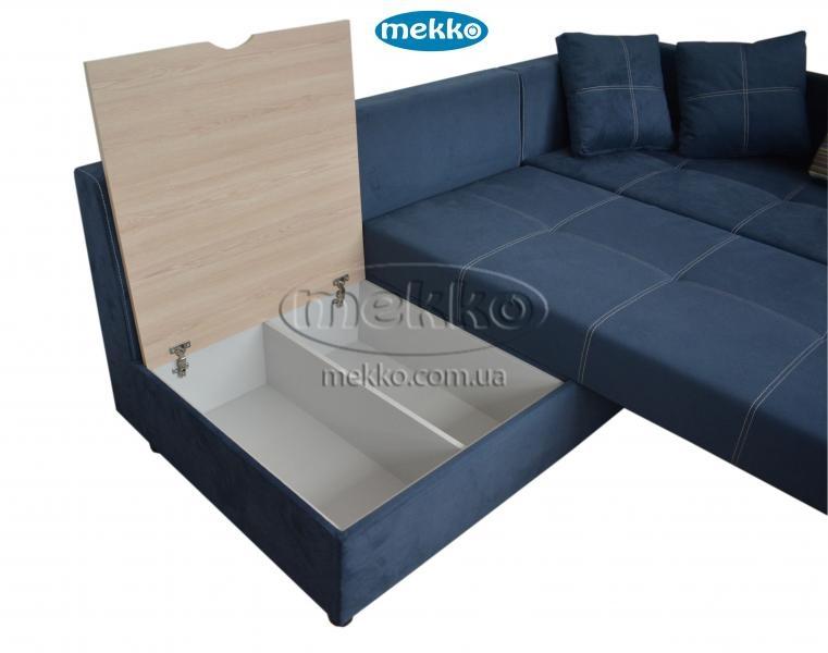 Кутовий диван з поворотним механізмом (Mercury) Меркурій ф-ка Мекко (Ортопедичний) - 3000*2150мм  Бахмач-18