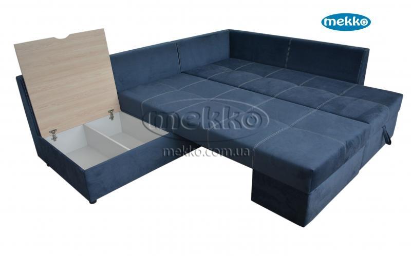 Кутовий диван з поворотним механізмом (Mercury) Меркурій ф-ка Мекко (Ортопедичний) - 3000*2150мм  Бахмач-19