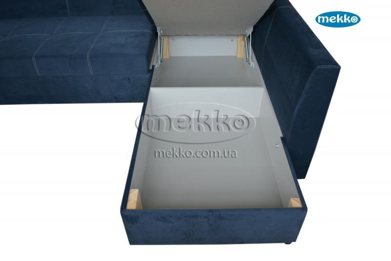Кутовий диван з поворотним механізмом (Mercury) Меркурій ф-ка Мекко (Ортопедичний) - 3000*2150мм  Бахмач-20