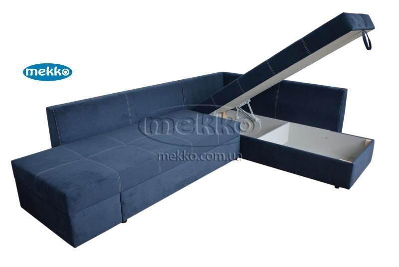 Кутовий диван з поворотним механізмом (Mercury) Меркурій ф-ка Мекко (Ортопедичний) - 3000*2150мм  Бахмач-14