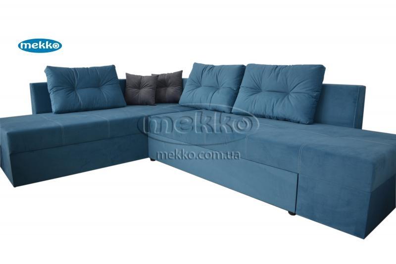 Кутовий диван з поворотним механізмом (Mercury) Меркурій ф-ка Мекко (Ортопедичний) - 3000*2150мм  Бахмач-11