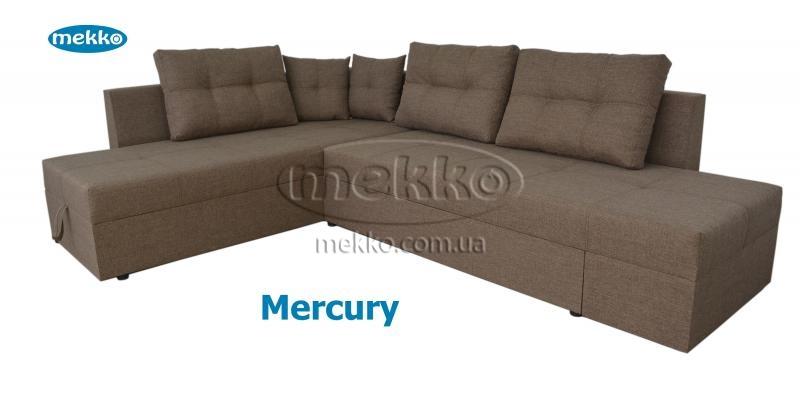 Кутовий диван з поворотним механізмом (Mercury) Меркурій ф-ка Мекко (Ортопедичний) - 3000*2150мм  Бахмач-12